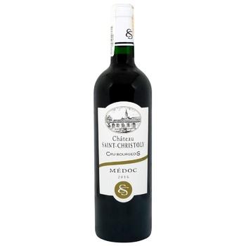 Вино Premium Vins Chateau San Christoly красное сухое 13% 0,75l