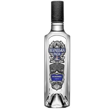 Kozaцьka Rada Special Vodka 40% 0,5l - buy, prices for Auchan - photo 1
