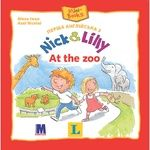 Книга А. Іван та А. Ніколай Первый английский с Nick & Lilly At the zoo
