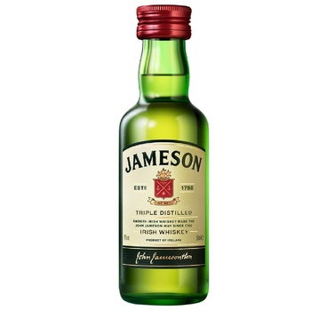Jameson Original Whiskey 50ml - buy, prices for Auchan - photo 1