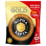 Кофе Чорна Карта Gold растворимый 400г