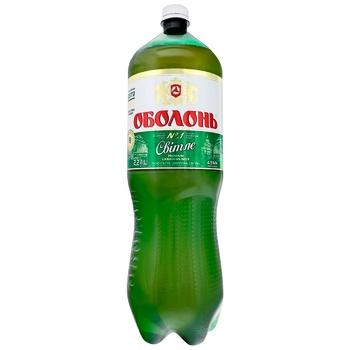 Obolon Light Beer 4,5% 2,2l - buy, prices for CityMarket - photo 1
