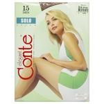 Колготи жіночі Conte Solo 15денн р.3 Bronz