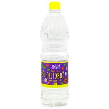 Vinegar Smachnyy svit 1000ml plastic bottle - buy, prices for CityMarket - photo 1