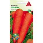 Насіння Агроконтракт Морква Долянка 3г