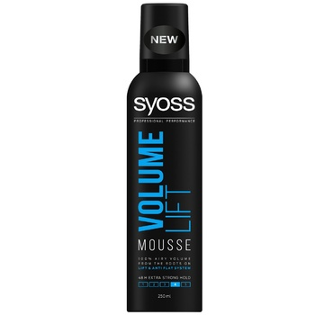 Syoss Volume Lift Hair Mousse Volume and Extra Fixation 250ml