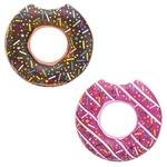 Надувной круг Donut для плавания 107см