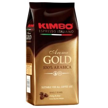 Кофе Kimbo Aroma Gold 100% Arabica в зернах 250г