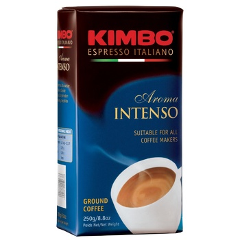 Кава Kimbo Intenso мелена 250г - купити, ціни на ЕКО Маркет - фото 1