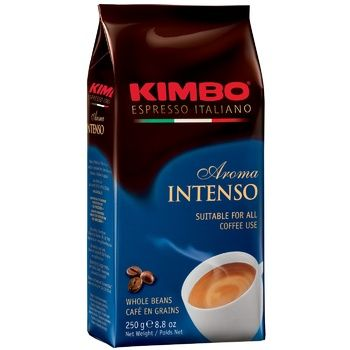 Кофе Kimbo Intenso в зернах 250г - купить, цены на Ашан - фото 1
