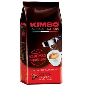 Кофе Kimbo Espresso Napoletano в зернах 250г
