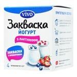 Закваска бактериальная Vivo Йогурт с лактулозой 1г х 4шт