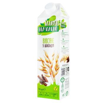 Напиток Идеаль Немолоко ультрапастеризованный овсяный с наполнителем шоколад 1,5% 950г - купить, цены на Ашан - фото 1