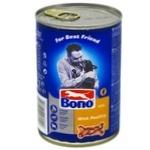Корм Bono д/собак 415 г з/б з птицею (Польща) И389
