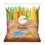 Stir-fry vegetables mix Spela Mosaic 400g Ukraine