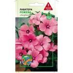 Семена Агроконтракт Цветы Лаватера розовая 0,5г