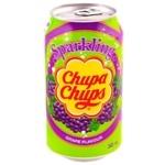 Beverage Chupa chups grapes carbonated 345ml can Korea