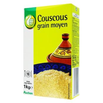 Кускус Pouce среднее зерно 1кг - купить, цены на Ашан - фото 1