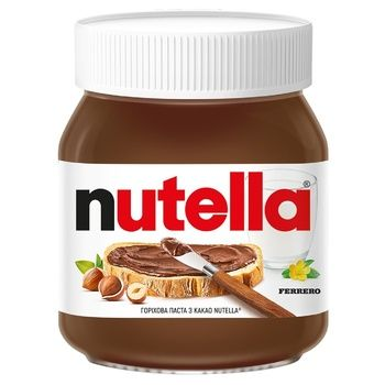 Ореховая паста Nutella с какао 350г