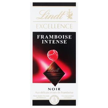 Шоколад Lindt Excellence темный малина 100г