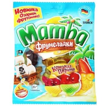 Мармелад Mamba жувальний Команда піратів 70г - купити, ціни на Ашан - фото 1