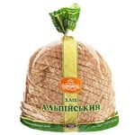 Хліб Рум'янець Альпійський нарізка 720г