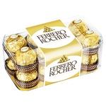 Цукерки вафельні Ferrero Rocher хрусткі 200г