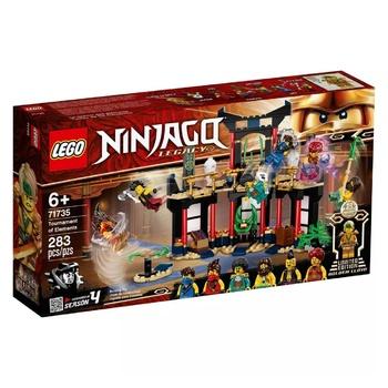 Конструктор Lego Ninjago Турнір стихій 283шт - купити, ціни на Ашан - фото 1