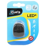 Cup's 2 LED Flashlight for Bicycle