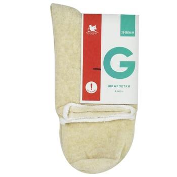 Шкарпетки жін. Golfo Comfort 12003 без гумки 23-25 беж