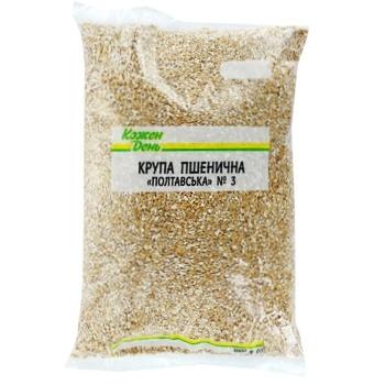 Крупа Кожен день пшенична полтавська 1кг - купити, ціни на Ашан - фото 1