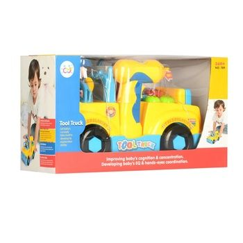 Машинка-конструктор Huile Toys