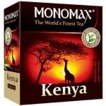 Чай черный Monomax Kenya 100шт 2г - купить, цены на Ашан - фото 1