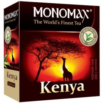 Monomax Kenya Black Tea 100pcs 2g - buy, prices for Auchan - photo 1