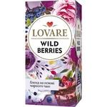 Чай чорний Lovare Дикі ягоди в пакетиках 24шт*1,5г