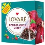 Чай черный Lovare Pomegranate Shake в пирамидках 2г 15шт