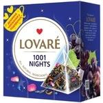 Чай Lovare 1001 ночь смесь черного и зеленого в пирамидках 15*2г