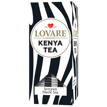 Чай черный Lovare Кenya байховый 24шт х 2г