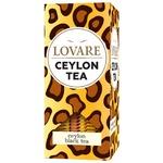 Чай чорний Lovare цейлонський байховий 24шт х 2г