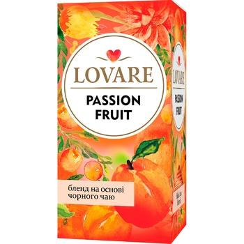 Lovare Passion fruit Black tea 24pcs*2g