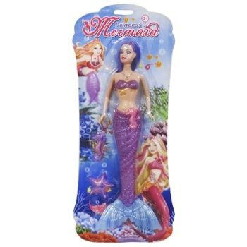 Іграшка ЮТ лялька русалка LM358912 И374