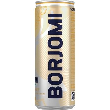 Borjomi Mineral Carbonated Water with Citrus-Ginger Flavor 0,33l - buy, prices for CityMarket - photo 1