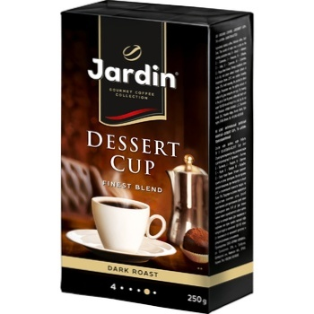 Jardin Dessert Cup Ground Coffee 250g - buy, prices for Auchan - photo 2