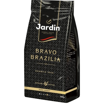 Jardin Bravo Brazilia Ground Coffee 250g - buy, prices for EKO Market - photo 1