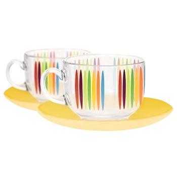 Набор чайный Luminarc Fizz 12 предметов 220мл