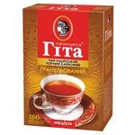 Чай черный Принцесса Гита байховый гранулированный 180г