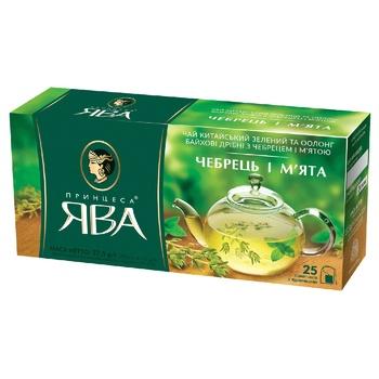 Чай Принцеса Ява Чебрець і м'ята 25пак*1,5г
