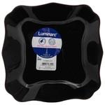 Тарілка Luminarc Authentic Black десертна квадратна 20.5см