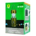 6 LED Lantern for Camping Sliding