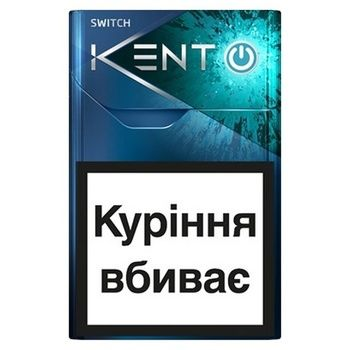 Kent iSwitch Silver Cigarettes - buy, prices for CityMarket - photo 1
